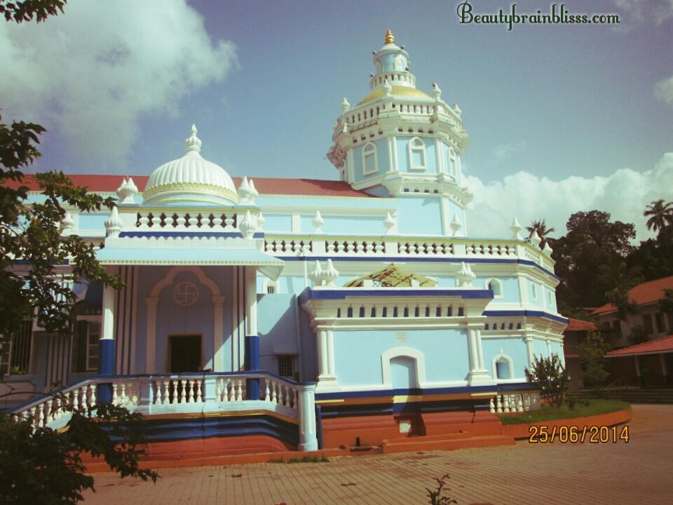 Shri Mangueshi temple.