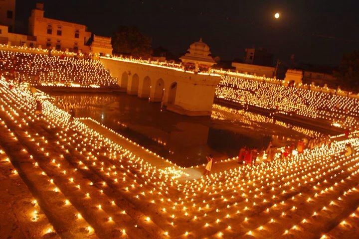 Karthika pournami :Dazzling home town