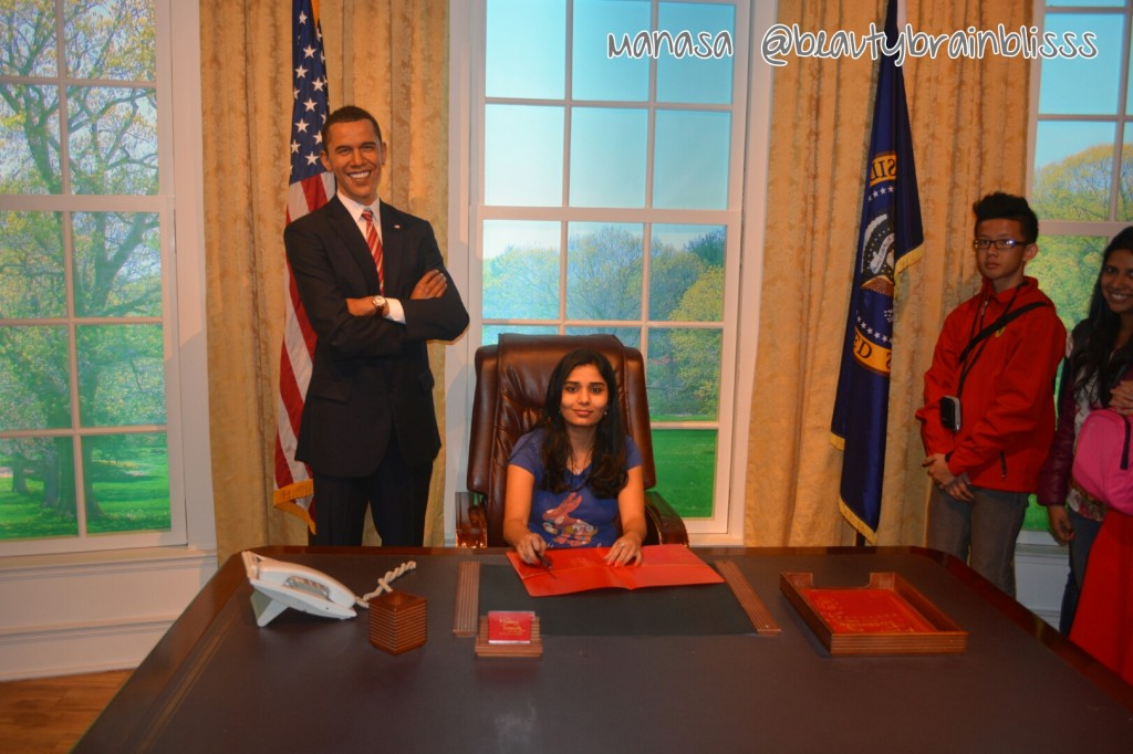 Even Obama thinks I am more worthy to be on President's seat