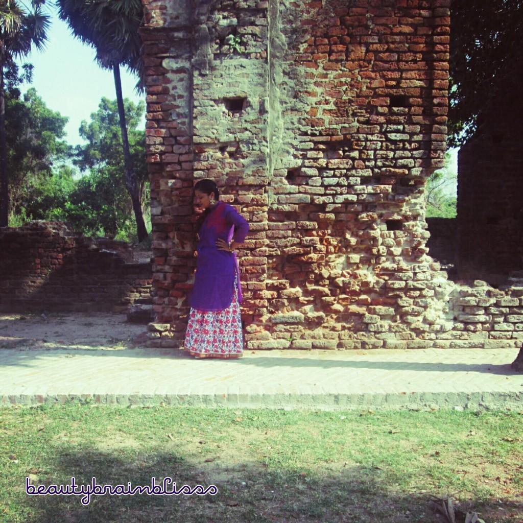 skirt with kurthi