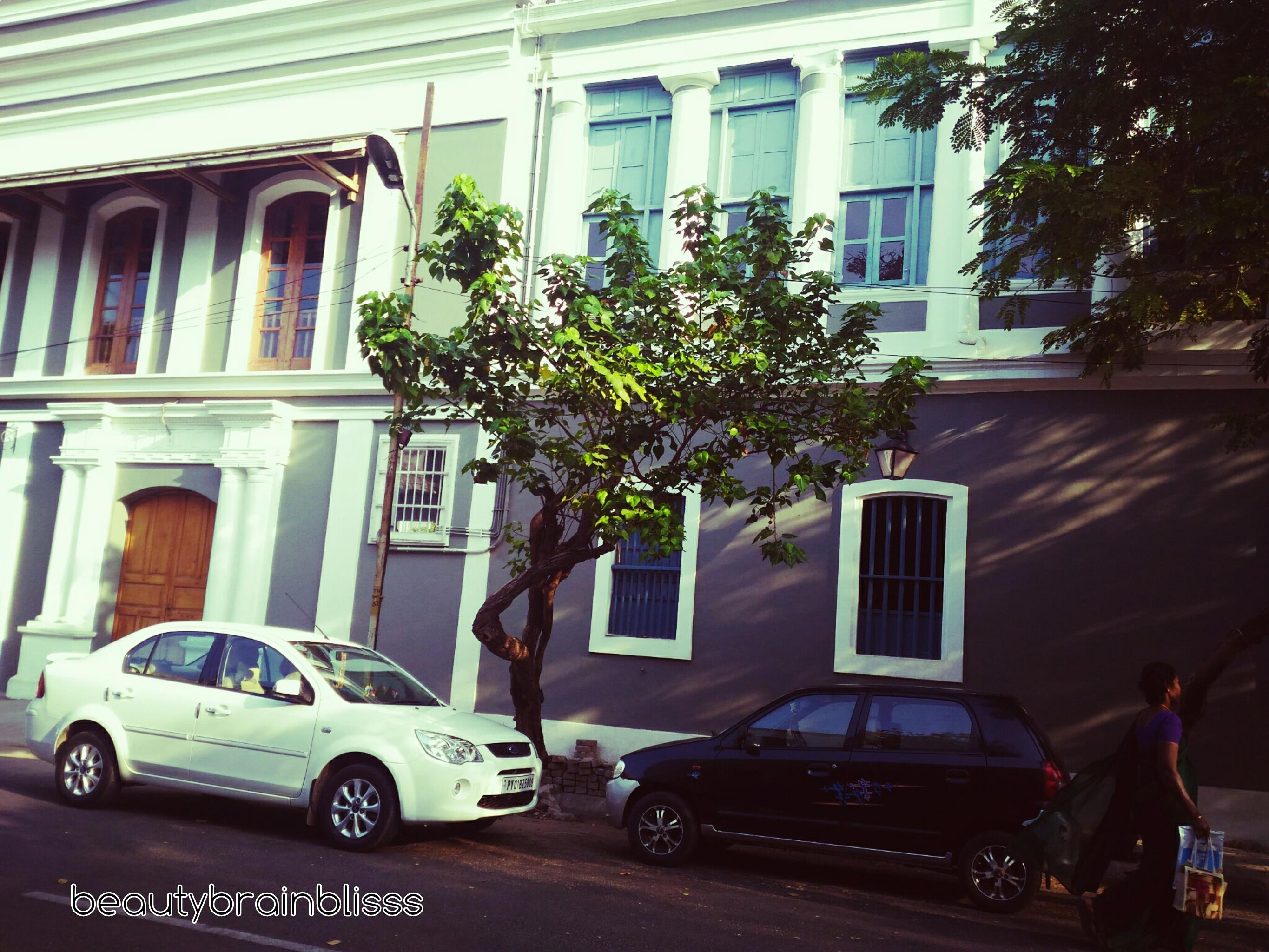 A walk through culture- Heritage town, Pondicherry