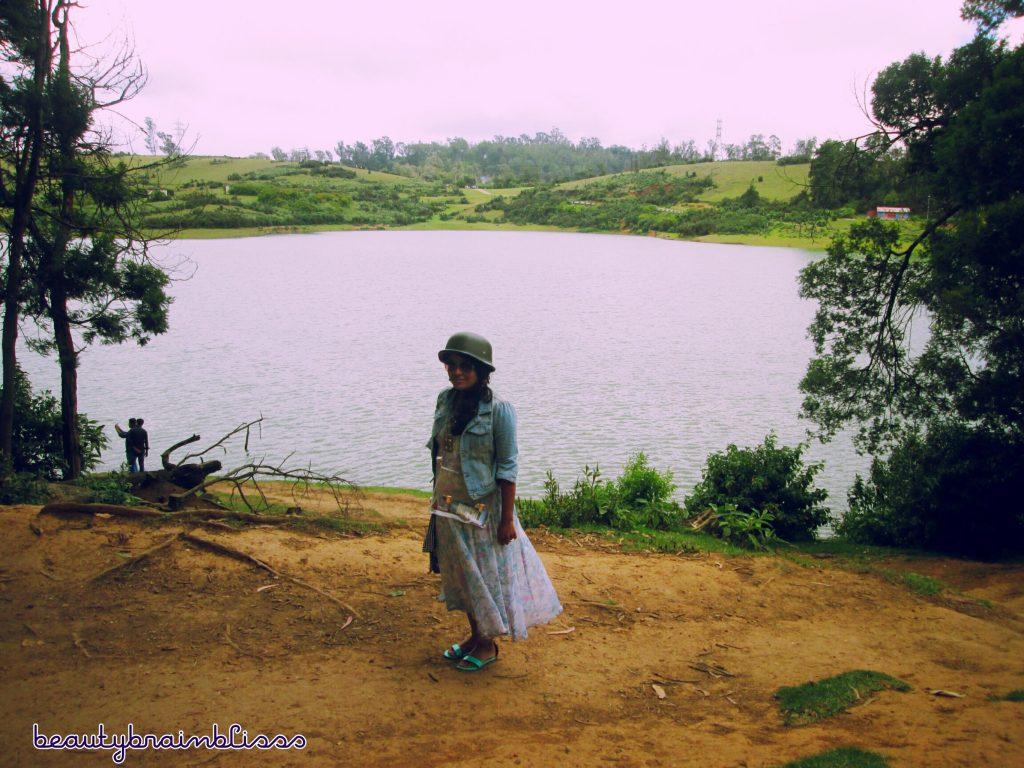 One small lake en route