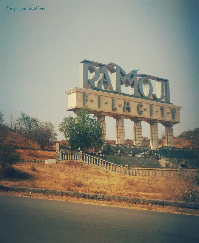 The grand entrance to Ramoji Film City (RFC)